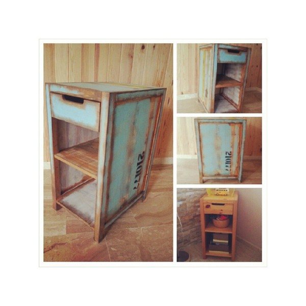 Mueble restaurado muwu design - Reciclar muebles de madera ...